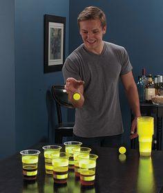Glow-in-the-Dark Beer Pong