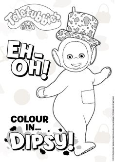 Do you love colouring? Have a go at this #Dispy #colouring sheet!