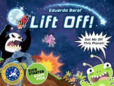 Modular Board Game: Lift Off! - Get me off this Planet by Eduardo Baraf — Kickstarter