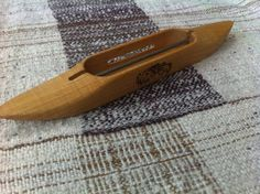 Schacht 11 Closed Bottom Boat Shuttle  Maple  by SAORIstyle, $35.00