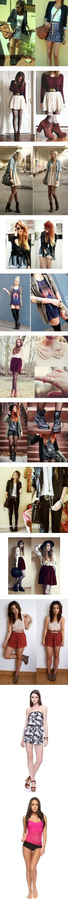 #Clothes #Cool #Style #Nice #Lindo #Ropa #Girl #Mujer #Chica #Young #Joven #tips #DIY #Look #Genial ♥