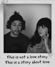 This is not a love story. This is a story about love.