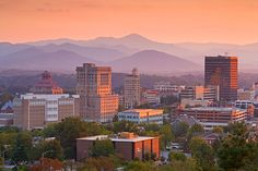 Asheville, NC  Beautiful place to go in North Carolina