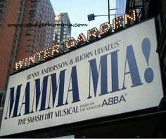 I love Mamma Mia and have seen it on Broadway at least 5 times and Las Vegas once. It just makes me smile the whole time.