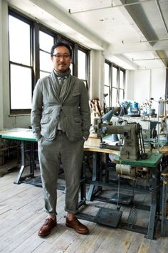 Daiki Sauzuki of Engineered Garments