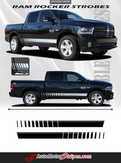 Vehicle Specific Style Dodge Ram Truck Lower Rocker Panel Strobe Vinyl Graphic Stripe Decals Year Fitment 2009 2010 2011 2012 2013 2014 2015 2016 Contents Drive