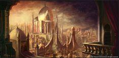 Diablo 3 Concept art - Kehjistan