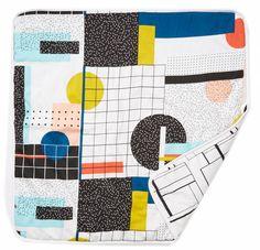Mainio 2-sided baby blanket 85 cm x 85 cm