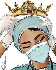 Nursing Wallpaper, Medical Wallpaper, Cartoon Kunst, Cartoon Art, Cool Art Drawings, Art Drawings Sketches, Nurse Art, Girl Doctor, Medical Art