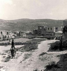 قرية سبسطية قضاء مدينة نابلس 1932 #فلسطين