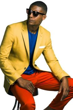 Man in colors!