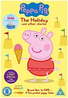 Peppa Pig - The Holiday (Vol 19) [DVD]