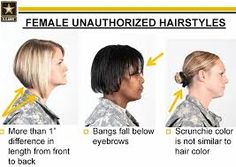 Military Hairstyles For Females Hair Color Trends