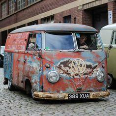 Volkswagen Bus, Vw T1, Vw Camper, Vans Vw, Combi Split, Vw Rat Rod, Kdf Wagen, Rat Look, Car Barn