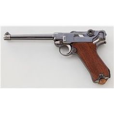 Scarce 6'' 1920 Commercial Luger Semi-Automatic Pistol