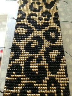 off loom beading techniques Loom Bracelet Patterns, Bead Loom Bracelets, Bead Loom Patterns, Peyote Patterns, Weaving Patterns, Jewelry Patterns, Loom Bands, Bead Loom Designs, Seed Bead Tutorials