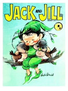 A Friend in Need - Jack and Jill, March 1971 by Ruth Bendel | www.art.com