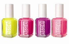 my favorite nail polish out of all of them- Essie!