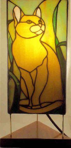 lampe de chat