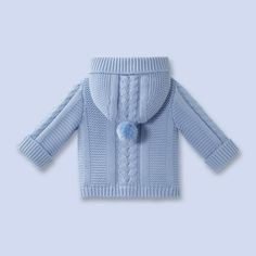 Baby Boy Hooded Cardigan Models – Hooded Baby Boy Cardigans – Özlem Yıldırım – Join in the world of pin Baby Boy Knitting Patterns, Baby Cardigan Knitting Pattern, Knitting For Kids, Baby Patterns, Baby Boy Cardigan, Knitted Baby Cardigan, Hooded Cardigan, Handgestrickte Pullover, Baby Overall