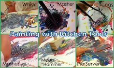 Getting Messy With Ms. Jessi: Making a Mess in the Kitchen!