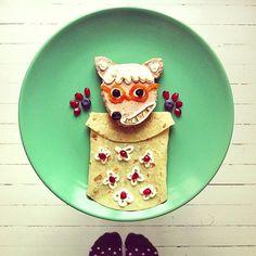 Assiette loup