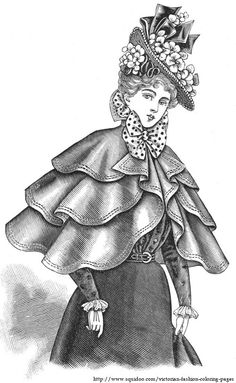 Victorian and Edwardian fashion plates