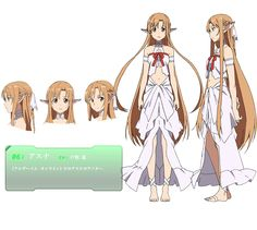 Asuna (Tabitha model) - Sword Art Online