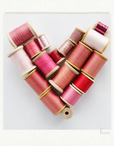 inspiration comes from everywhere, but a bagful of thread spools can be really helpful in deciding what works and cost very little (besides, you can sew your new color accessories w/ them!)
