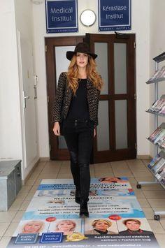Miss Zuzana Jandová navštívila estetické centrum v Plzni