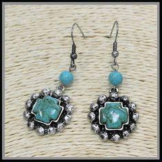 Ijala Earring: Sierra Western Wear #western #jewelry #turquoise #gemstone #cowgirl #fashion