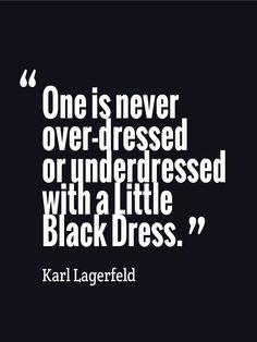 True #karllagerfeld