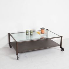 Industrial Rolling Coffee Table MoveLoot.com, The Best Way To Buy And Sell  Used