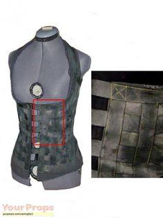 Resident Evil  Afterlife original movie costume - vest