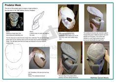 Predator Helmet Worksheet 1 by J-Phreak on DeviantArt Predator Costume, Predator Cosplay, Predator Helmet, Alien Vs Predator, Predator Movie, Scary Halloween Costumes, Halloween Cosplay, Fall Halloween, Halloween Crafts