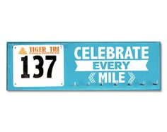 Race Bib and Medal Holder   Celebrate Every Mile on Etsy, $42.50