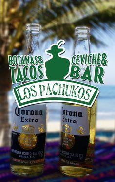 Disfruta de un buen par en Los Pachukos Playa del Carmen. Antojitos mexicanos, cerveza, ceviches y hamburguesas en playa del carmen