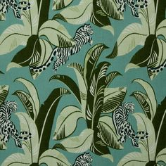 Jungalow Fabric - Lime
