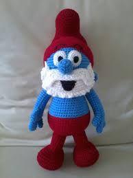 pitufo tejido a crochet - Buscar con Google