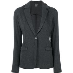 Majestic Filatures classic blazer (€240) ❤ liked on Polyvore featuring outerwear, jackets, blazers, grey, majestic blazer, majestic filatures blazer, grey blazer jacket, gray blazer, blazer jacket and majestic filatures