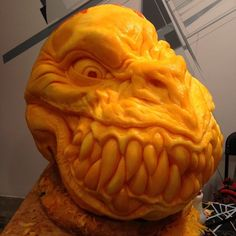 Extreme Pumpkin Carving with @jon_neill