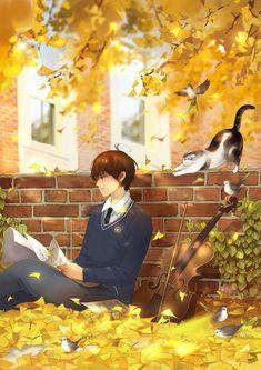 Anime Boys, Cool Anime Guys, Cute Anime Boy, Anime Manga, Anime Cosplay, Grafiti, Ghibli Movies, Anime Kunst, Anime Scenery