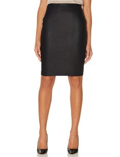 Faux Leather High Waist Pencil Skirt from THELIMITED.com