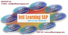 Self Learning SAP Online Videos are offered Self Learning sap is a Leading IT Online Videos Center We have the training solutions for the modules like SAP SD, CRM,  MM,  ABAP,  FICO,  APO, WM, EWM, BO 4.1, HANA , ABAP Webdynpro & OOPs.  SAP Courses Details: http://www.selflearningsap.com/