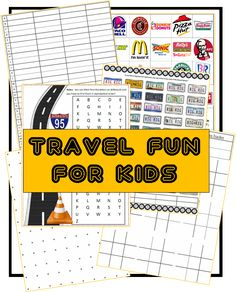 Travel Fun for Kids -- Over 20 Fun Road Trip Ideas for Kids!