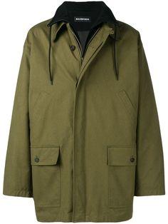 e7357b22d516 BALENCIAGA BALENCIAGA DOUBLE LAYER JACKET - GREEN. #balenciaga #cloth
