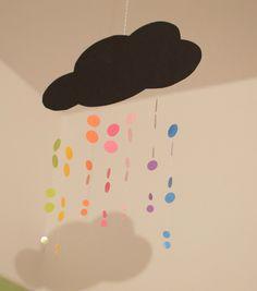 DIY Rainbow cloud.
