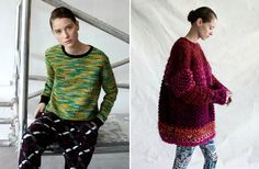 ASOS Fall 2012 - the one on the right. That size and with the tiny bun...