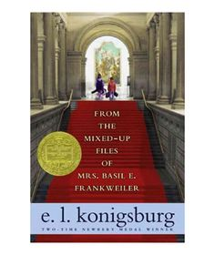 From the Mixed-Up Files of Mrs. Basil E. Frankweiler, by E.L. Konigsburg  1968  the book won the Newbery Medal.