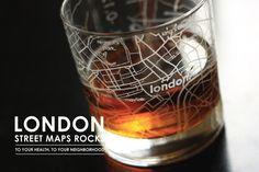 London Street Maps Rocks